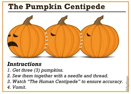 The Pumpkin Centipede