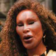 Jocelyn Wildenstein, the real cat-woman