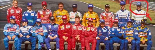 1995 Formula One Drivers pictures Conte Lavaggi