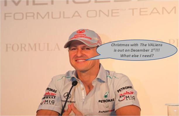 Michael Schumacher, I left F1,