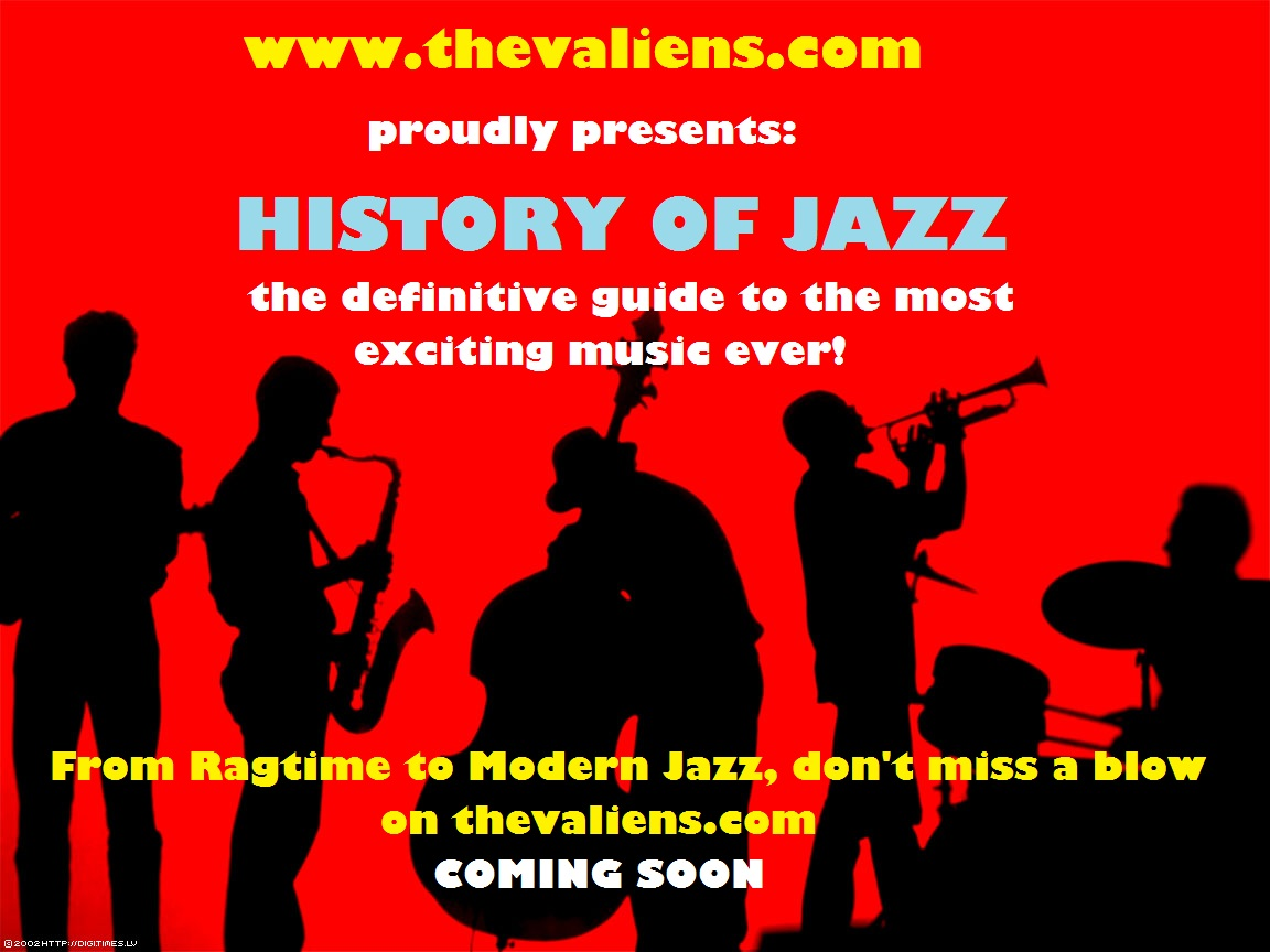 history of jazz vs history of Popular music from the 1920s, genres including dance bands, jazz, blues and broadway musicals, top songs and artists from each year.