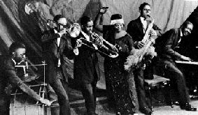 The ragtime compositions by Joplin and his circle were solely in duple meter and had a different sort of swing to them  A     two step encouraged a more     The VALiens